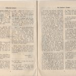 First edition of Piokelde Post, January 1946, pages 2-3