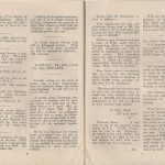 First edition of Piokelde Post, January 1946, pages 6-7