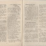 First edition of Piokelde Post, January 1946, pages 8-9