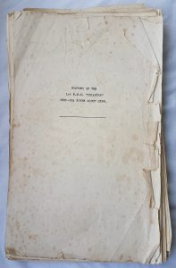 photo of the diary